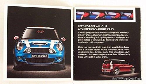 2009 Mini Cooper S Clubman Convertible Sales Brochure Mini Cooper