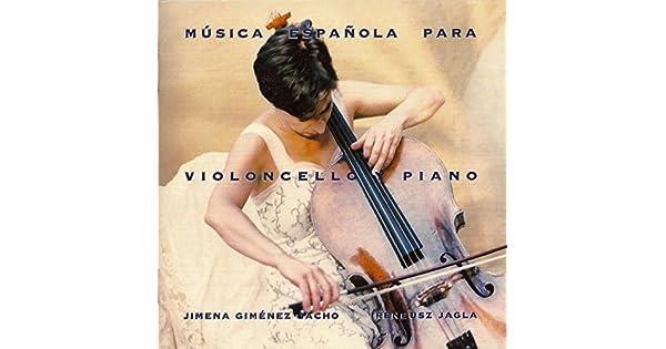 Amazon.com: Música Española para Violoncello y Piano: Jimena ...
