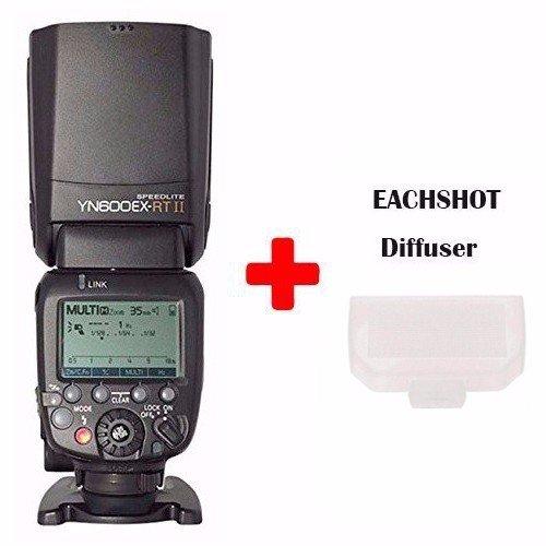 26 opinioni per Flash esterno wireless YongNuo YN600EX-RT II Speedlite TTL per Canon DSLR 70D