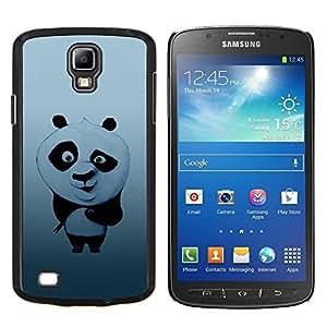 Qstar Arte & diseño plástico duro Fundas Cover Cubre Hard Case Cover para Samsung Galaxy S4 Active i9295 (Sushi lindo Panda)