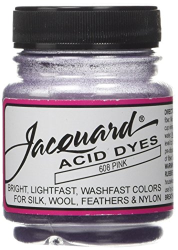 Acid Dyes (Jacquard Acid Dyes 1/2 Ounce-Pink)