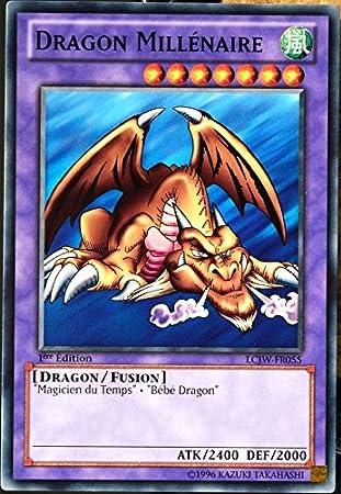 Yu Gi Oh Carte Lcjw Fr055 Dragon Millã Naire Neuf Fr Amazon