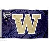 University of Washington PAC 12 Flag and Banner