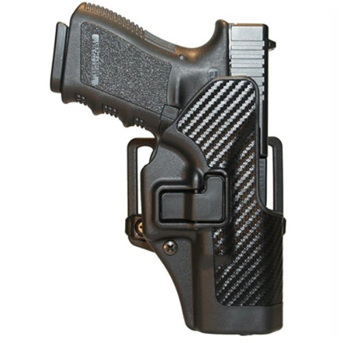 Left - hand BLACKHAWK! SERPA CQC Concealment Holster Carbon