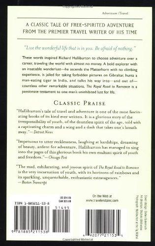 The Royal Road To Romance Travelers Tales Classics Richard