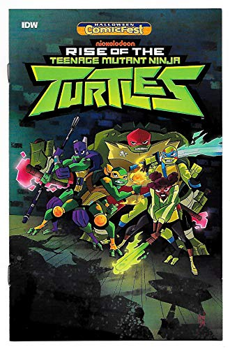 HCF Halloween ComicFest Rise Of The TMNT Mini Comic #1 (IDW, 2018) NM ()