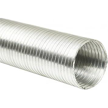 3 m Tubo flexible disponible en todos los tama/ños de aluminio Prodmax