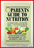 Parents' Guide to Nutrition, Susan Baker, 0201057395