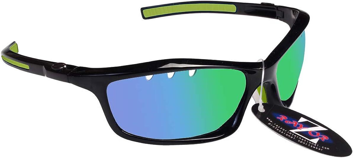 Rayzor - Gafas de sol deportivas ligeras para correr, antideslumbrantes para hombres y mujeres, protección ocular UV400 con marcos irrompibles