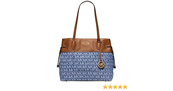 ac7fd335f30c Amazon.com: Michael Kors Marina North South Large Drawstring Tote: Shoes