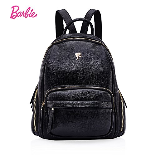 Women's Barbie Backpack Rucksack Series Pocket Modern Cargo Pu Leather qzzARf