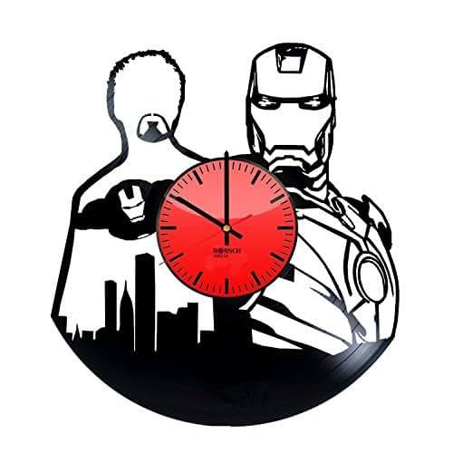 Iron Anniversary Gifts For Women: Amazon.com: Iron Man Marvel Vinyl Record Wall Clock