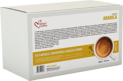 Italian Coffee capsules compatible with RIVO machines (Arabica, 100)