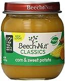 Beech-Nut Classics, Corn & Sweet Potato, 4 Ounce (Pack of 10)