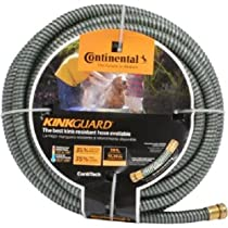 Continental ContiTech 20582684 Plastic Kink-Resistant Water Hose, Kink Guard, 5/8