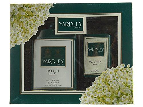 200g Gift (Yardley English Lavender Gift Box Set Containing Soap 100g and Talcum Powder 200g)
