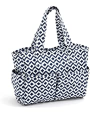 Hobbygift Groves Exclusivo: Craft Bolsa: Mate Scribble Diamond, PVC algodón, 12,5 x 39 x 35 cm