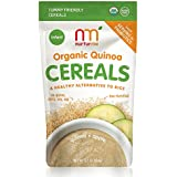 NurturMe Organic Infant Cereals, Quinoa + Apple, 3.7 Ounce