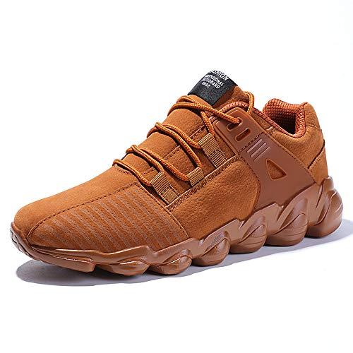 Calzado Otoño Brown Deportivo Casuales Zapatos De Gran Yxiaol Hombre Para Tamaño xSIRwYxTq