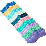 IDEGG No Show Socks Women 10 Pairs Low Cut