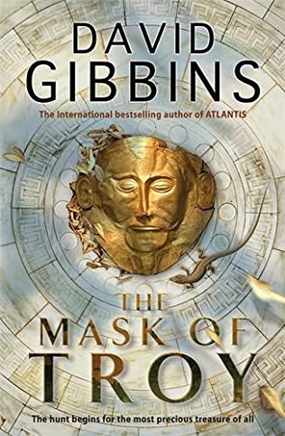 book cover of The Mask of Troy