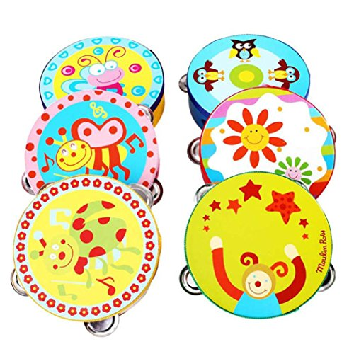 5 Pcs Baby Musical Instruments Toy Children Music Cartoon Toy Gift - 9