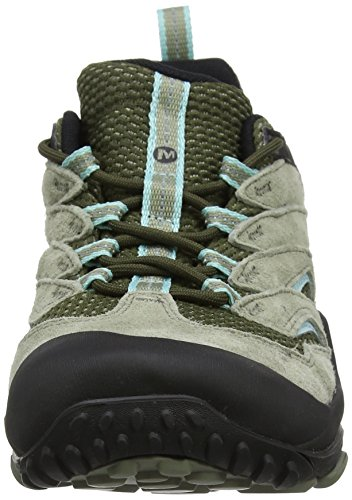 Mujer Merrell Zapatillas 7 Dusty Olive de Dusty Olive Verde Limit Senderismo Cham WP para 8T8wIrq