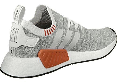 adidas Nmd_r2 Pk, Zapatillas de Deporte Unisex Adulto Blanco (Ftwbla/Ftwbla/Negbas)