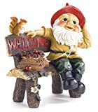 Zingz & Thingz 39265 Garden Gnome Greeting Sign