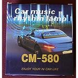 Docooler Car Sticker Music Rhythm LED Flash Light Lamp Sound Activated Equalizer (45x11cm)