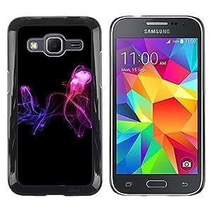 Exotic-Star ( Abstract smoke ) Fundas Cover Cubre Hard Case Cover para Samsung Galaxy Core Prime / SM-G360