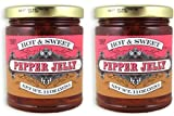 Trader Joes Hot & Sweet Pepper Jelly NET WT. 11OZ (312G) - 2-Pack