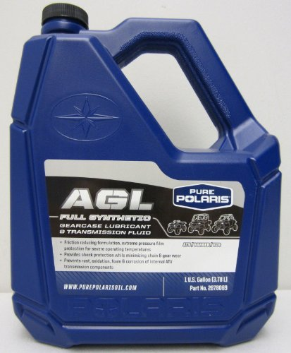 Polaris AGL Plus Synthetic Gearcase Oil Lube Lubricant/Transmission Fluid (Premium Gear Oil)