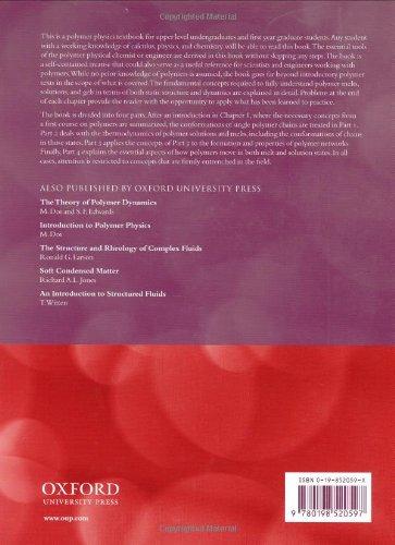 Polymer Physics (Chemistry) by Oxford University Press USA