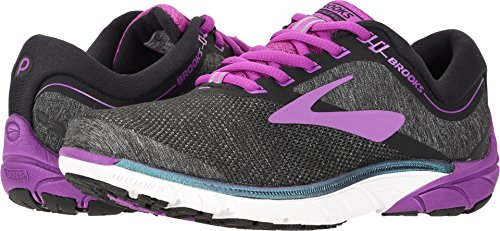 Brooks Women's PureCadence 7 Black/Purple/Multi 8 B US