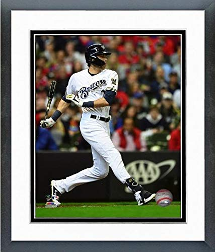 Opening Day Poster - Christian Yelich Milwaukee Brewers 2019 Opening Day Photo (Size: 12.5