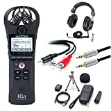 Zoom H1N Digital Recorder Bundle with Zoom ZH1NAP Accessory Pack & Headphones