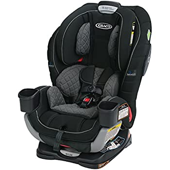 44d0b1969 Graco Extend2Fit 3-in-1 Car Seat featuring TrueShield Technology, Ion, 1  pounds