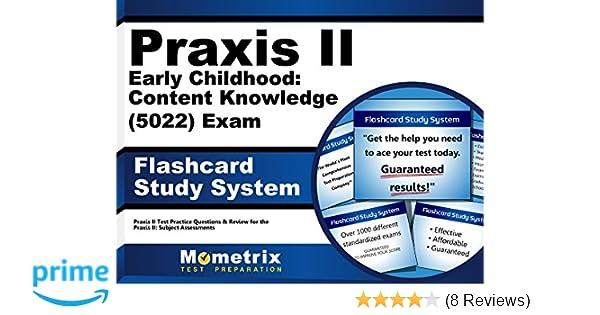 praxis ii early childhood content knowledge 5022 exam flashcard rh amazon com