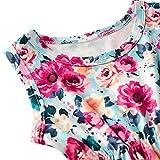 Newborn Toddler Baby Girls Floral Sleeveless