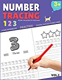 number tracing workbooks - Number Tracing Book for Preschoolers: Number Tracing Book for Preschoolers, Number tracing books for kids ages 3-5, Number tracing workbook, Number Writing Practice Book (Volume 2)