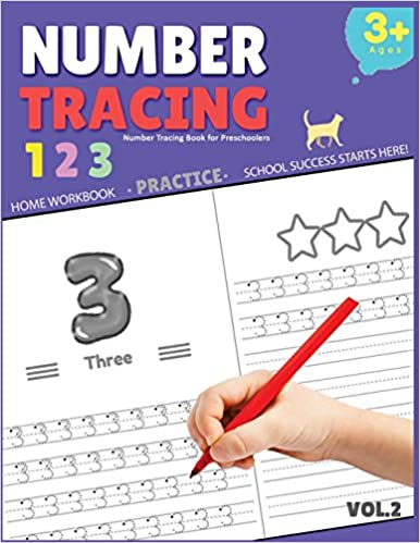 Number Tracing Book for Preschoolers: Number Tracing Book for Preschoolers Number tracing workbook Number Writing Practice Book Number tracing books for kids ages 3-5