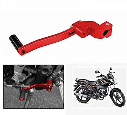 Motopart Bike Stylish Gear Shift Lever Red New 58044 Amazon In Car