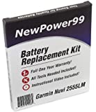 Product review for Battery Replacement Kit for Garmin Nuvi 2555LM with Installation Video, Tools, and Extended Life Battery.