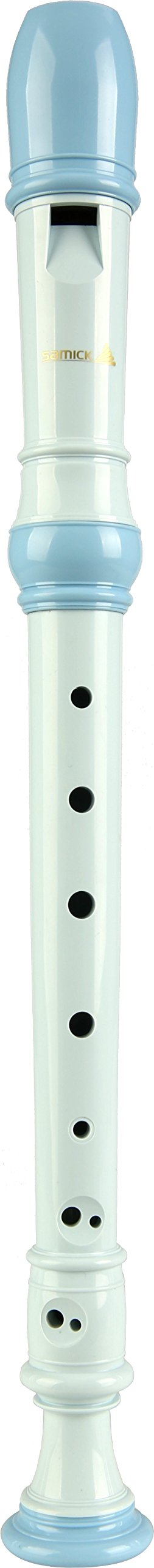 SAMICK Soprano Recorder SGR-50(Blue) German Fingering