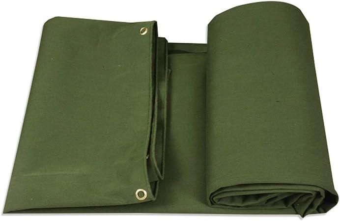 Lona Verde Militar Lona Resistente, Lona Impermeable para Lona, Proteja su Tienda de campaña, De Superficie Plana, Leña o Techo (Tamaño : 2m×2m): Amazon.es: Hogar