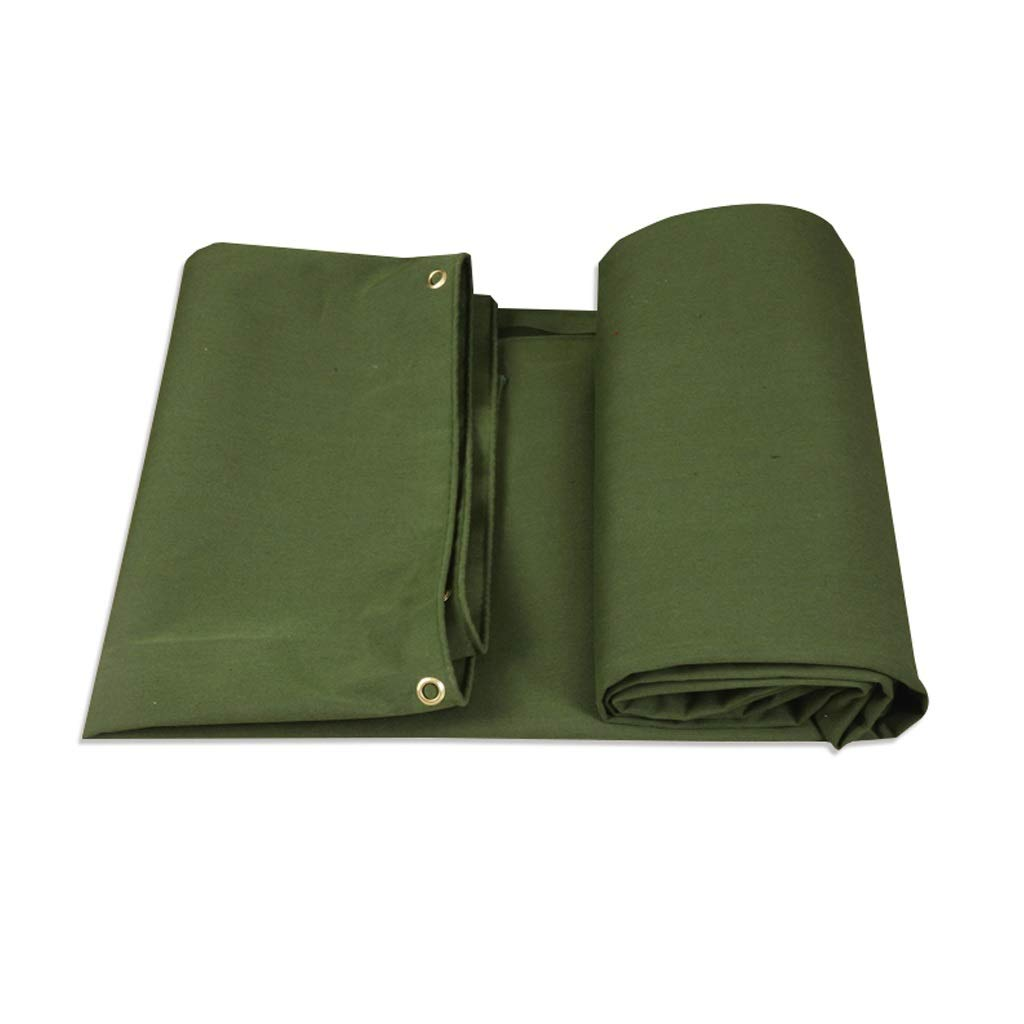 8m×6m BÂche de Prougeection Verte armée, bÂche imperméable en Toile, prougeégez Votre Tente, Votre lit à Plat, Votre Bois ou Un Toit (Taille   2m×2m)