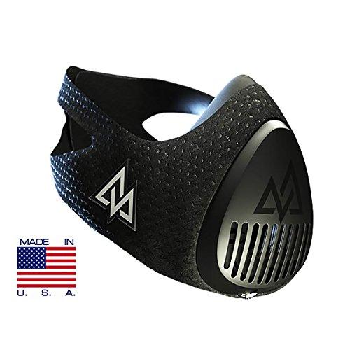 Training Mask 3.0 [all Black] Fitness Training Mask, Workout Mask, Running Mask, Breathing Mask, Res