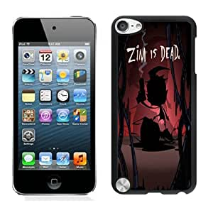 Fashion Custom Designed Zim Is Dead iPod touch 5 5th Generation Black Phone Case CR-704