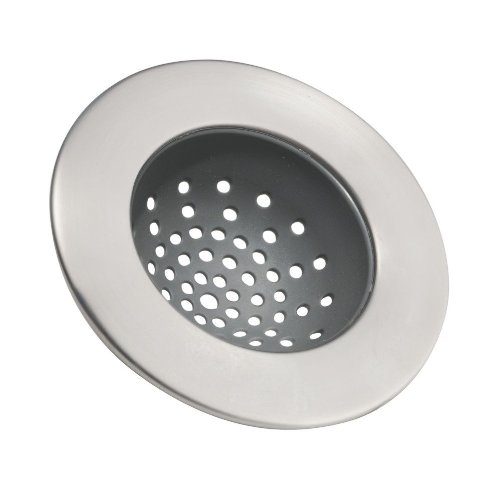 Amazoncom InterDesign Forma Sink Strainer Brushed Stainless